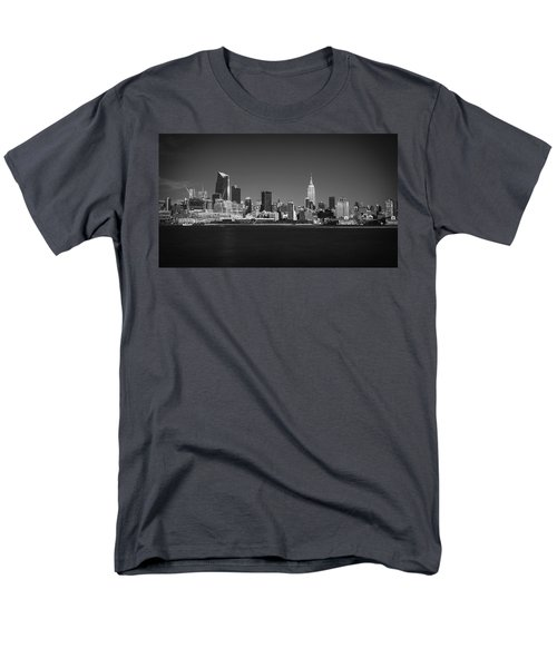 Men's T-Shirt  (Regular Fit) featuring the photograph A View From Across The Hudson by Eduard Moldoveanu