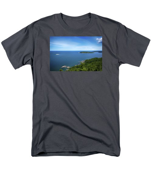 A View From Sugarloaf Mountain Men's T-Shirt  (Regular Fit) by Dan Hefle