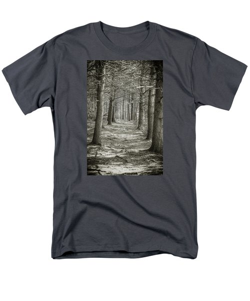 Men's T-Shirt  (Regular Fit) featuring the photograph A Walk In Walden Woods by Ike Krieger