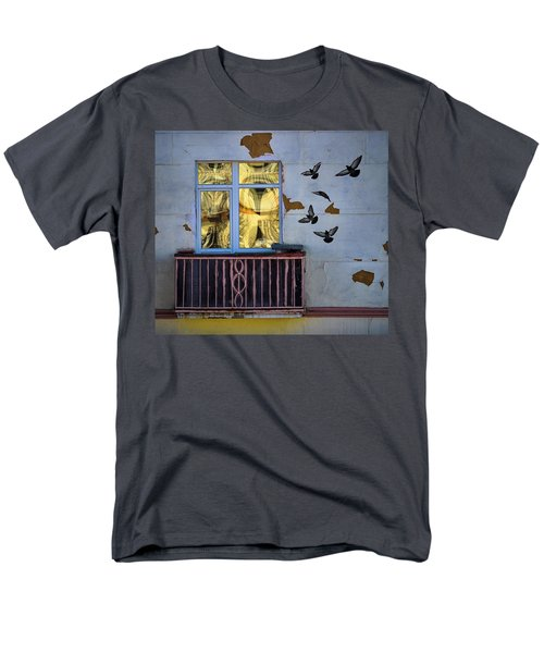 A Window Men's T-Shirt  (Regular Fit) by Vladimir Kholostykh