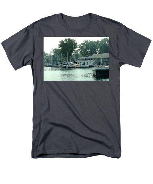 A Yacht Club Men's T-Shirt  (Regular Fit) by Ian  MacDonald