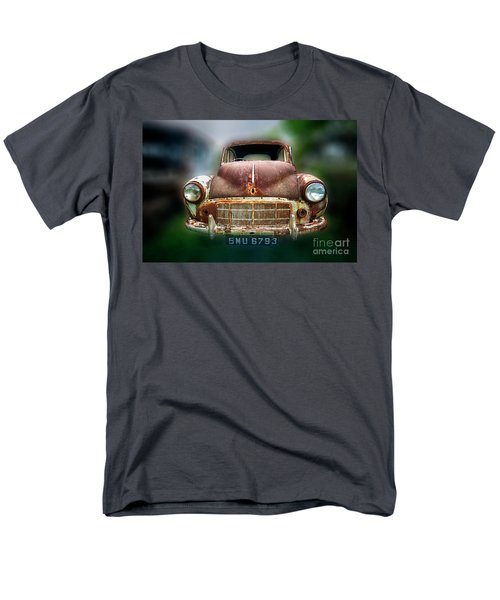 Men's T-Shirt  (Regular Fit) featuring the photograph Abandoned Car by Charuhas Images