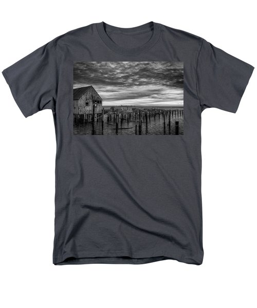 Abandoned Pier Men's T-Shirt  (Regular Fit) by David Cote