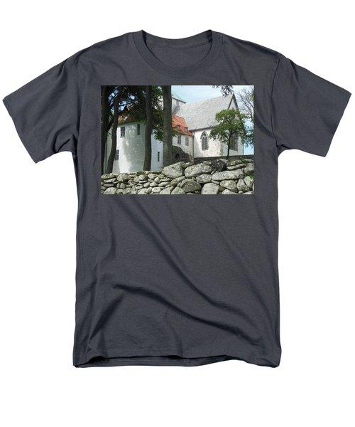 Abbey Exterior #2 Men's T-Shirt  (Regular Fit) by Susan Lafleur