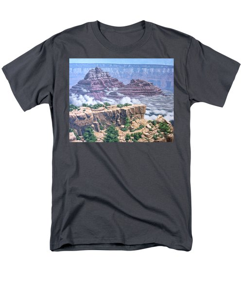 Above The Clouds Grand Canyon Men's T-Shirt  (Regular Fit) by Jim Thomas