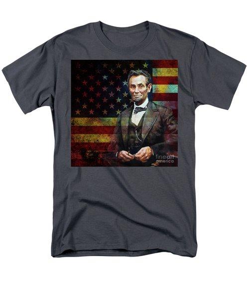 Abraham Lincoln The President  Men's T-Shirt  (Regular Fit) by Gull G