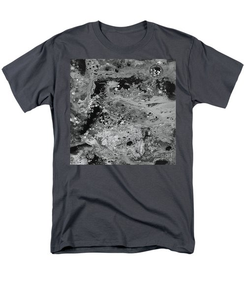 Abstract Acrylic Painting The Night Men's T-Shirt  (Regular Fit) by Saribelle Rodriguez