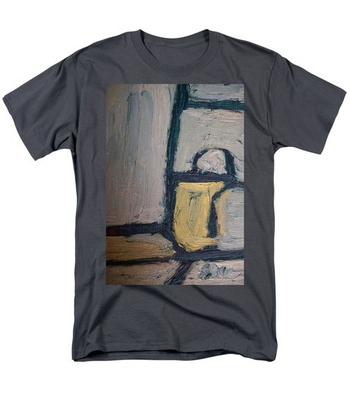 Abstract Blue Shapes Men's T-Shirt  (Regular Fit) by Shea Holliman