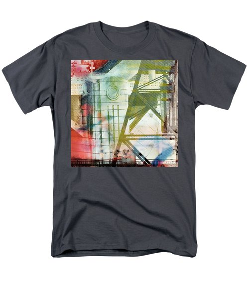 Abstract Bridge With Color Men's T-Shirt  (Regular Fit) by Susan Stone