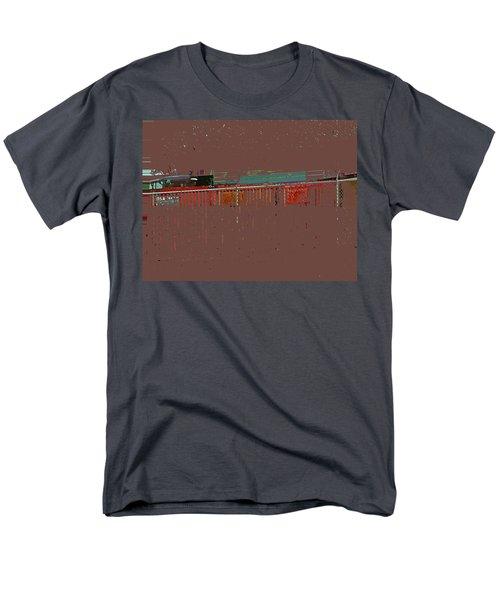Abstract For Viv Men's T-Shirt  (Regular Fit) by Lenore Senior
