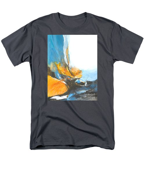 Abstract In Motion Men's T-Shirt  (Regular Fit) by Glory Wood