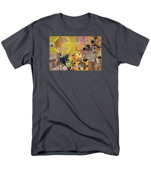 Abstract Painting - Pale Brown Men's T-Shirt  (Regular Fit) by Vitaliy Gladkiy