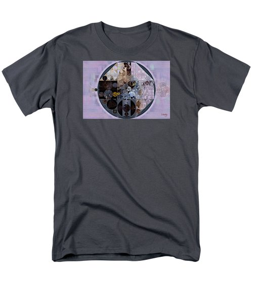 Men's T-Shirt  (Regular Fit) featuring the digital art Abstract Painting - Pastel Purple by Vitaliy Gladkiy