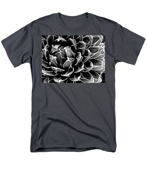 Men's T-Shirt  (Regular Fit) featuring the photograph Abstract Succulent by Ranjini Kandasamy