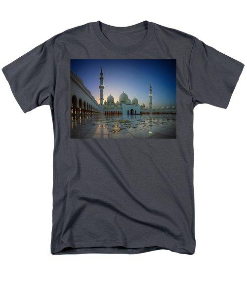 Abu Dhabi Grand Mosque Men's T-Shirt  (Regular Fit) by Ian Good