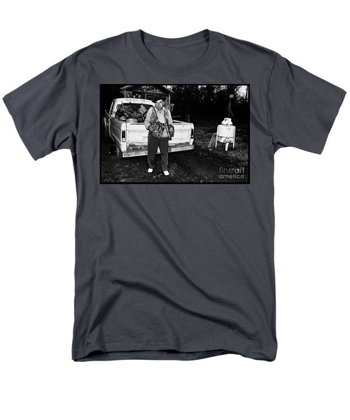 Accordion Scrapper Man  Men's T-Shirt  (Regular Fit) by Peter Gumaer Ogden