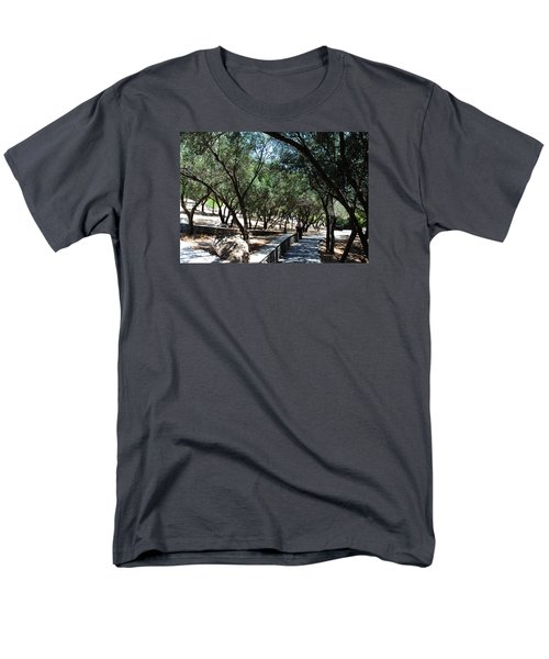 Men's T-Shirt  (Regular Fit) featuring the photograph Acropolis Trail by Robert Moss