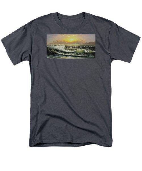 Acrylic Msc 148 Men's T-Shirt  (Regular Fit) by Mario Sergio Calzi
