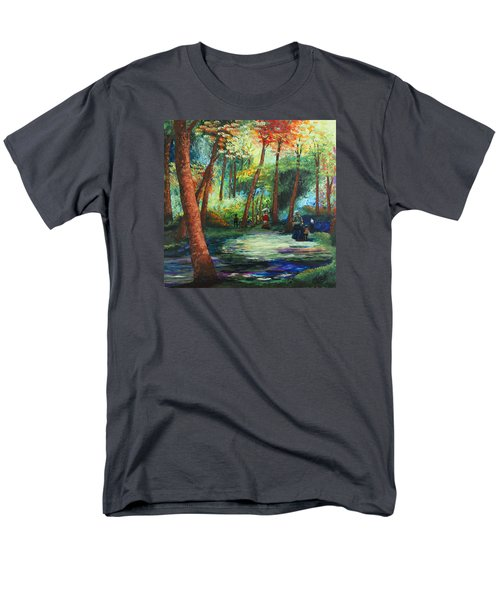 Acrylic Msc 217 Men's T-Shirt  (Regular Fit) by Mario Sergio Calzi