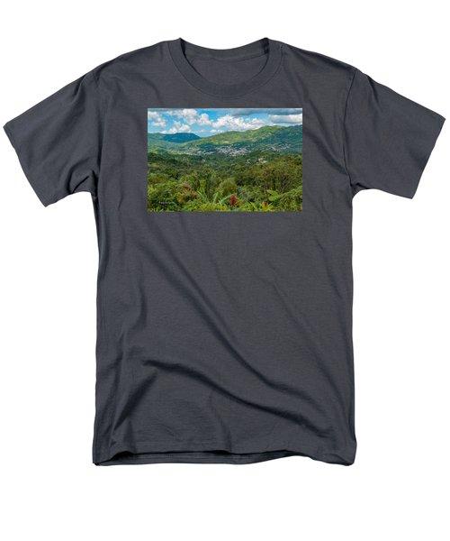 Men's T-Shirt  (Regular Fit) featuring the photograph Adjuntas by Jose Oquendo