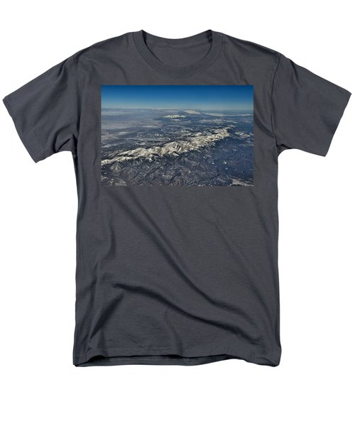 Men's T-Shirt  (Regular Fit) featuring the photograph Aerial 3 by Steven Richman