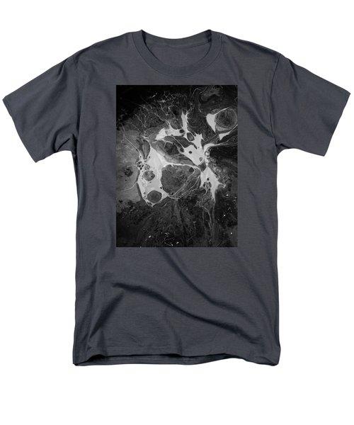 Aerial Photo Vulture Beak Yawn Men's T-Shirt  (Regular Fit) by Gyula Julian Lovas