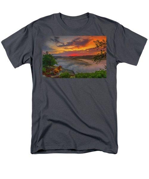 After A Rainy Night.... Men's T-Shirt  (Regular Fit) by Ulrich Burkhalter