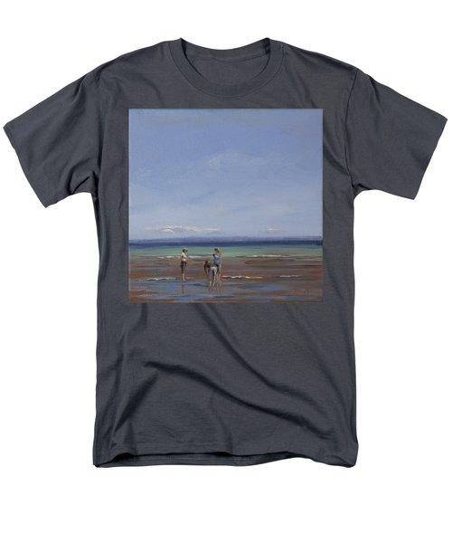 After The Walk II Men's T-Shirt  (Regular Fit) by Trina Teele
