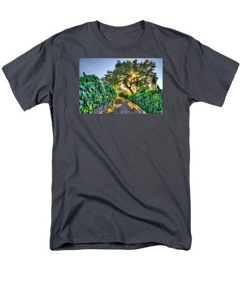 Afternoon In The Vineyard Men's T-Shirt  (Regular Fit) by Derek Dean