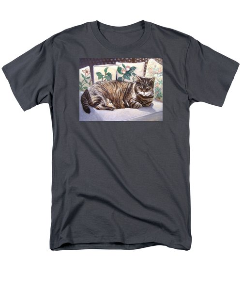 Men's T-Shirt  (Regular Fit) featuring the painting Afternoon Nap by Laura Aceto