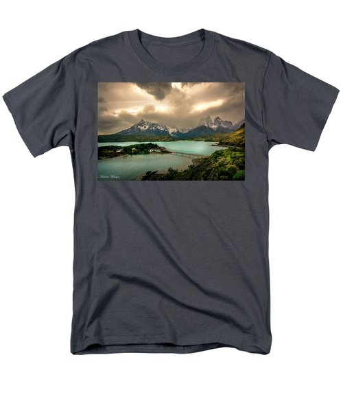 Men's T-Shirt  (Regular Fit) featuring the photograph Afternoon Storm by Andrew Matwijec