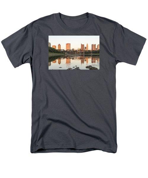Men's T-Shirt  (Regular Fit) featuring the photograph Afternoon Sun Columbus by Alan Raasch