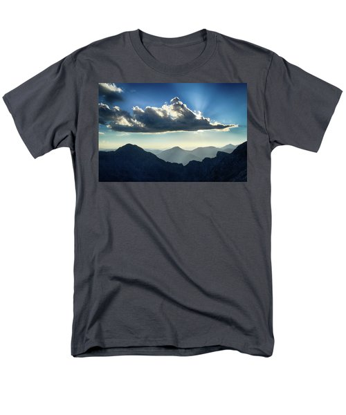 Men's T-Shirt  (Regular Fit) featuring the photograph Afternoon Sunburst by Marie Leslie