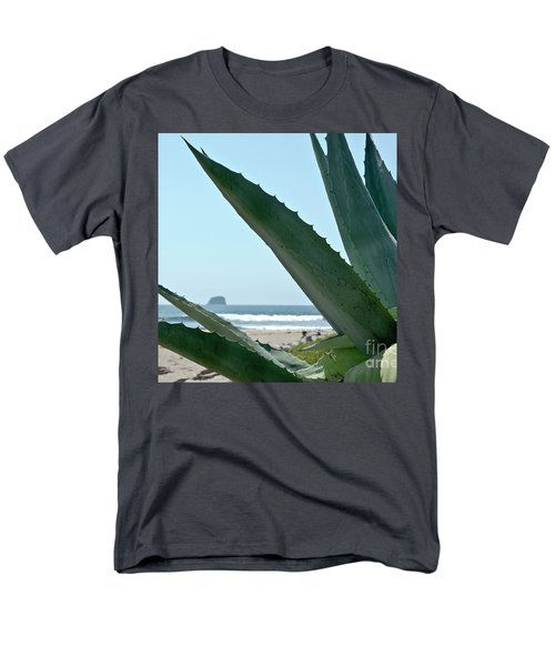 Agave Ocean Sky Men's T-Shirt  (Regular Fit) by Yurix Sardinelly