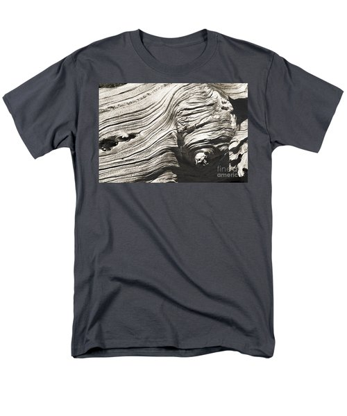 Men's T-Shirt  (Regular Fit) featuring the photograph Aging Of Time by Yulia Kazansky