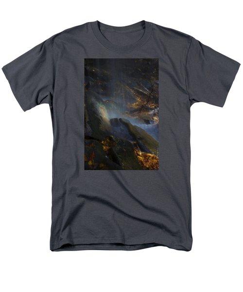 Men's T-Shirt  (Regular Fit) featuring the photograph Aglow by Ellen Heaverlo