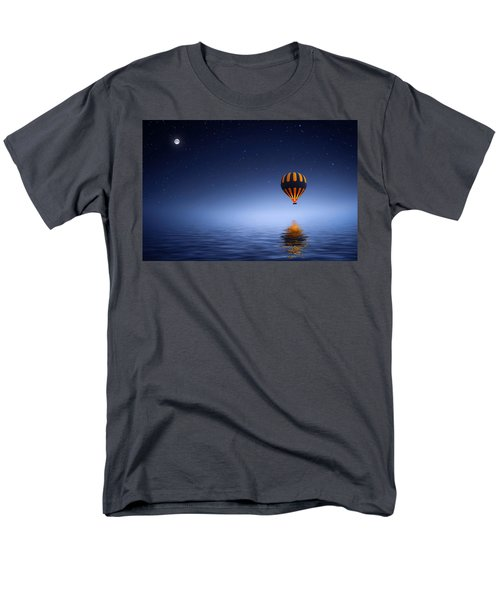 Men's T-Shirt  (Regular Fit) featuring the photograph Air Ballon by Bess Hamiti