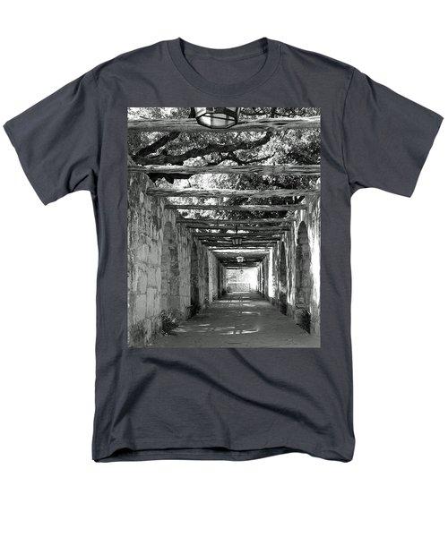 Alamo Corridor Men's T-Shirt  (Regular Fit) by Debbie Karnes