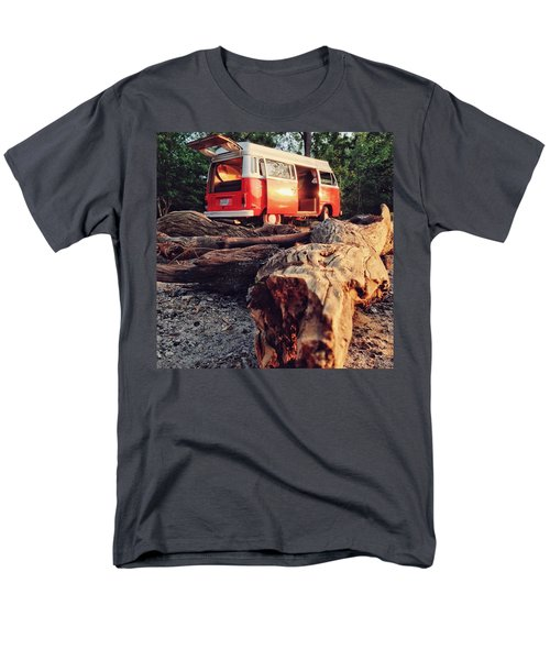 Alani By The River Men's T-Shirt  (Regular Fit) by Andrew Weills