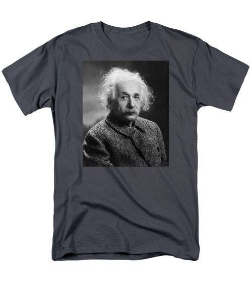 Albert Einstein Men's T-Shirt  (Regular Fit) by Oren Jack Turner