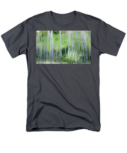 Alder Reflections Men's T-Shirt  (Regular Fit) by Sheila Ping