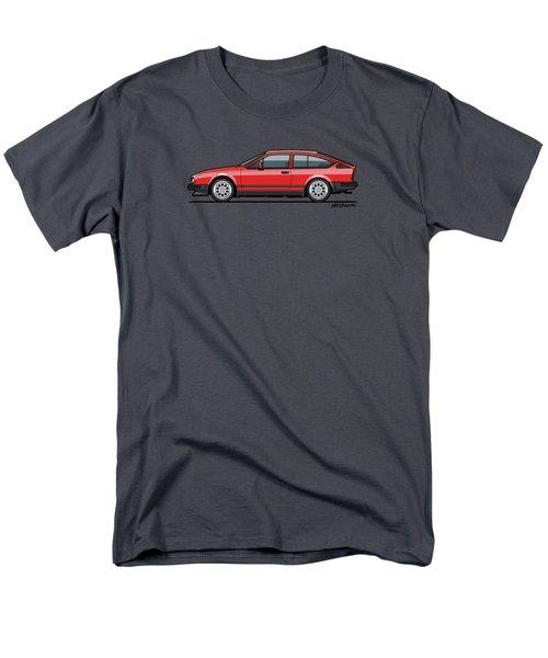 Alfa Romeo Gtv6 Red Men's T-Shirt  (Regular Fit) by Monkey Crisis On Mars