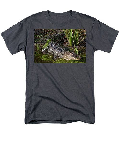 Algae Gator Men's T-Shirt  (Regular Fit) by Arthur Dodd