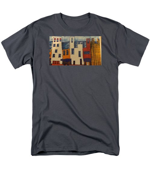 Men's T-Shirt  (Regular Fit) featuring the painting Algiers by Don Koester