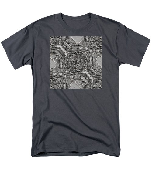 Alien Building Materials Men's T-Shirt  (Regular Fit) by Craig Walters