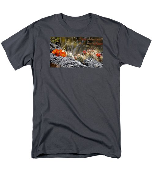 Men's T-Shirt  (Regular Fit) featuring the photograph All We Need by David Norman