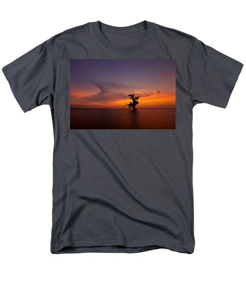 Men's T-Shirt  (Regular Fit) featuring the photograph Alone by Evgeny Vasenev