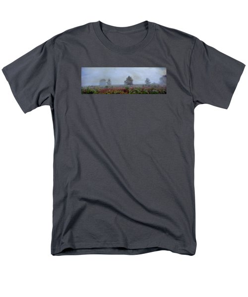 Men's T-Shirt  (Regular Fit) featuring the photograph Alone On A Hill by John Rivera