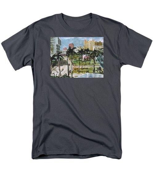Along Flagler Drive Men's T-Shirt  (Regular Fit)