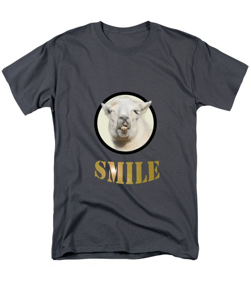 Alpaca Smile  Men's T-Shirt  (Regular Fit) by Rob Hawkins